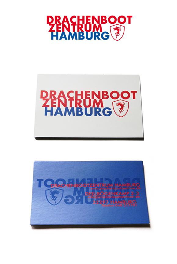 Drachenbootzentrum ID Logo
